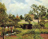 View Across Stamford Brook Common, 1897, pissarro