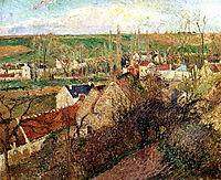View of Osny near Pontoise, 1883, pissarro
