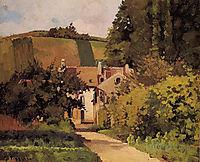 Village Church, c.1868, pissarro