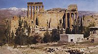 Baalbek. Ruins of Jupiter Cathedral and Cathedral of Sun., 1882, polenov