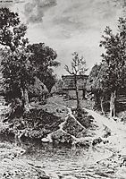 Backyard. The village of Turgenev., 1892, polenov