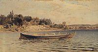 A boat, 1880, polenov