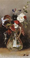 Bouquet of flowers, 1880, polenov