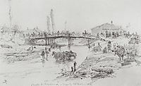 Bridge on the River Cuprija in Paracin, 1876, polenov