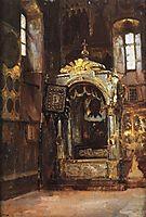 Cathedral of the Assumption. Racah of Metropolitan Jonah., 1877, polenov