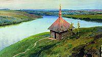 Chapel on the banks of the Oka, 1893, polenov