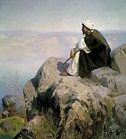 Dreams (On the hill), c.1900, polenov