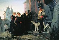 Droit du seigneur, 1874, polenov