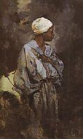 Dunkey Driver in Cairo, 1882, polenov