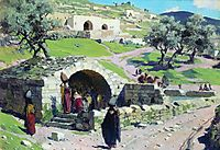 Fountain of the Virgin Mary in Nazareth, 1882, polenov