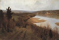 Getting cold. Autumn on the Oka River near Tarusa., 1893, polenov