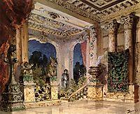Hall in the Magic Castle, c.1883, polenov