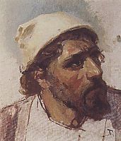 Head of Christ, c.1887, polenov