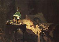 The ill woman, c.1886, polenov