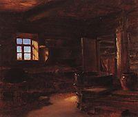 Interior of isba, polenov