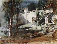 Marguerite Garden, 1882, polenov