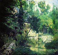 The mill on the source of the river Vel, 1874, polenov