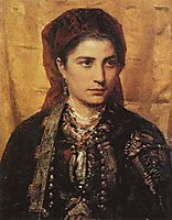 Montenegrin girl, 1874, polenov