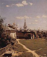 Moscow court, 1877, polenov