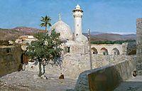 The mosque in Jenin, 1903, polenov