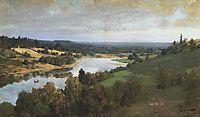 Oyat river, c.1885, polenov