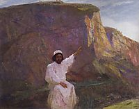 Palestine. Sermon on the Mount., c.1900, polenov