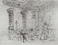 Pharaoh-s Palace, 1880, polenov