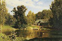 Pond in Abramtsevo, 1883, polenov