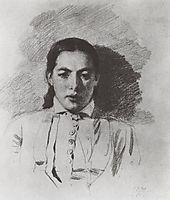 Portrait N. V. Yakunchikova, 1879, polenov