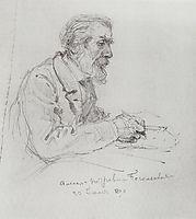 Portrait of A. P. Bogolyubov, 1890, polenov