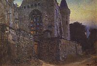Redon Abbey, c.1875, polenov