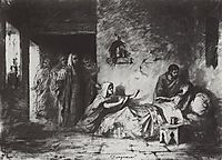 The Ressurection of Jair-s daughter, 1871, polenov