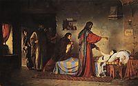 Ressurection of Jairus daughter, 1871, polenov