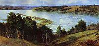 The River Oka, 1918, polenov