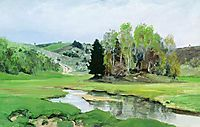 The River Svinka, c.1905, polenov