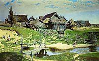 Russian Village, 1889, polenov