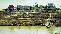 A settlement near Volga, 1897, polenov