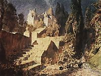 Stairway to Castle, c.1883, polenov