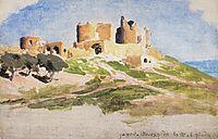 Tancred Castle in Tiberias, polenov