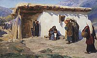 They Brought the Children , c.1900, polenov