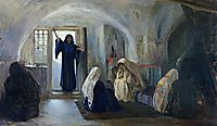 Ushered in a tearful joy, c.1900, polenov
