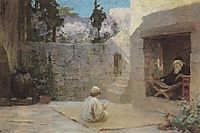 Was filled with wisdom, c.1902, polenov