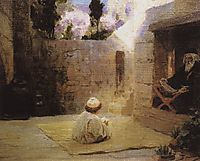 Was filled with wisdom, c.1900, polenov