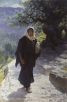 Went into the hill country, 1894, polenov