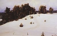 Winter , 1890, polenov