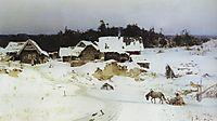 Winter. Imochentsy., 1880, polenov