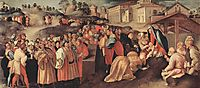 Adoration of the Magi, c.1520, pontormo