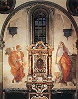 Annunciation, c.1527, pontormo