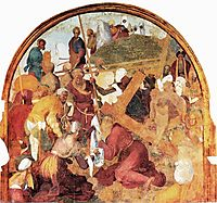 The Ascent to Calvary, c.1525, pontormo