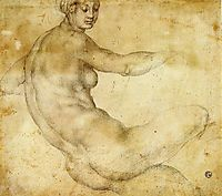 Female Nude, pontormo